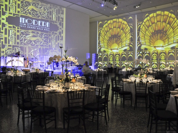 002, MFAH grand gala, October 2012, venue, table settings