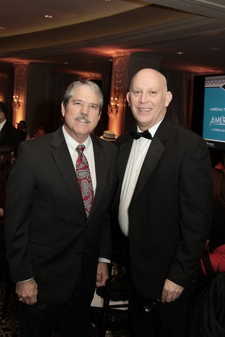 492 Larry Taylor, left, and Roy Green at the Devereux Texas Gala March 2015