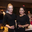 Melissa Ayers, left, and Yexenia Gilmet at the Eye Care for Kids benefit May 2014
