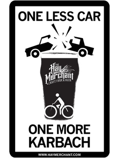 "Hay Merchant Pub Crawl ""One Less Car, One More Karbach"""