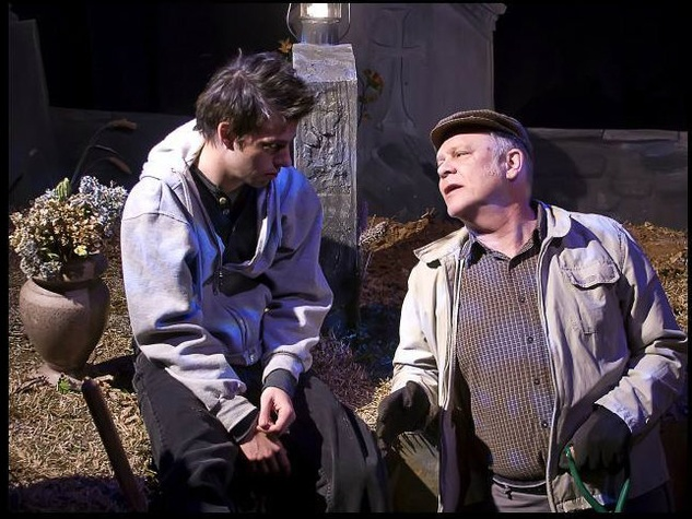 "John S. Davies in ""A Skull in Connemara"" at Second Thought Theatre"