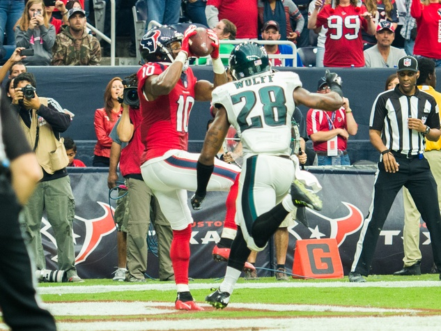 DeAndre Hopkins Texans Eagles catch
