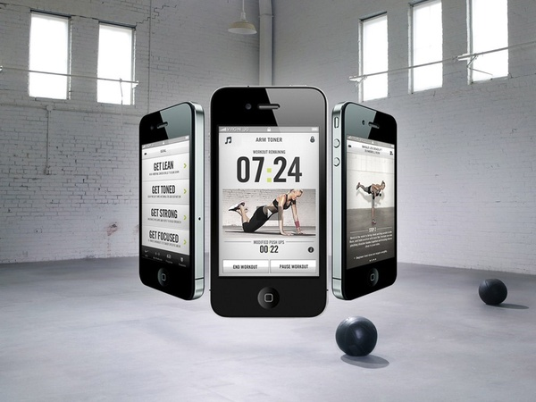 Nike Training Club, app, iPhone, workout
