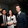 19 Michael Dinh, from left, Amanda Shagrin and David Vassar at the Menil Young Professionals party December 2013
