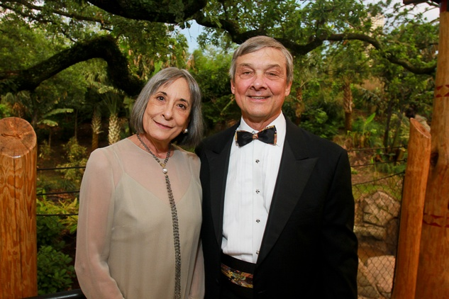 News, Shelby, Zoo Ball, Gorillas, April 2015, Honorees Annie and Bob Graham