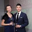 MFAH Emperors Treasures dinner, Jenny Lin, Victor Lee