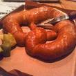 Mongoose vs. Cobra, giant pretzel