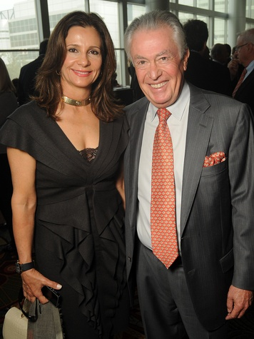14 Martine and Ricardo Weitz at the Guardian luncheon November 2013