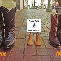 Miya Shay, cowboy boots, pregnant