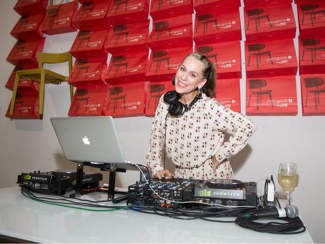 DJ Lucy Wrubel, Thrift Studio Kickoff