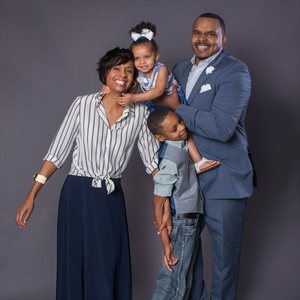 Chester Pitts and family