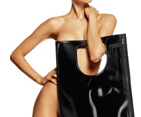 Tom Ford large Patent leather Alix tote
