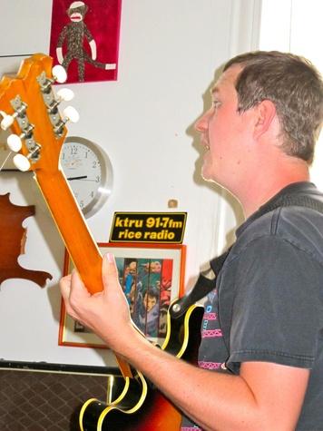 Shane Patrick on Guitar