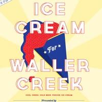 Austin Photo Set: News_Jackie_waller creek_icecream social_april 2012_poster