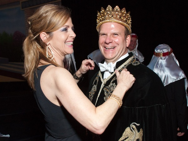 Momus Coronation, February 2011, Paige Fertitta, Tilman Fertitta