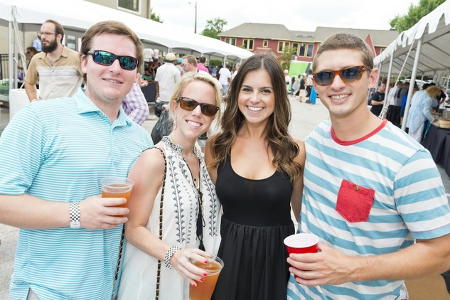 Culinary Carnival Chase Williams, Jordan Sturdevant, Erica Cochran, Justin Richards