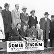 groundbreaking at the Astrodome Jan. 3, 1962