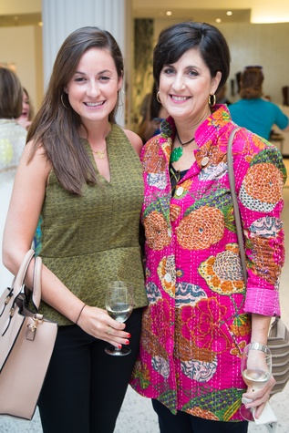 News, Shelby, Ovarian Cancer Awareness Month. tootsies, Sept. 2015, Caroline Purcell, Hilary Purcel