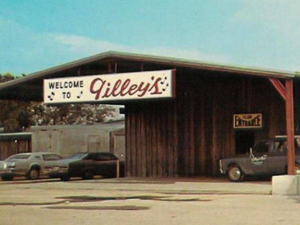 Gilley's dance hall in Pasadena Texas exterior RUN FLAT