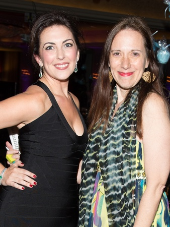 Art League Houston gala, October 2012, Sarah Bray, Catherine Anspon