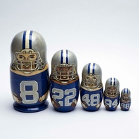 Dallas Cowboys nesting dolls