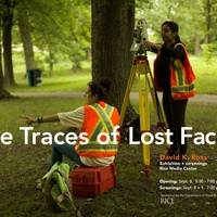Rice University Visual and Dramatic Arts Department presents David K. Ross: The Traces of Lost Facts