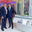 Stephen M. Ross and Jim Gold at Neiman March New York party