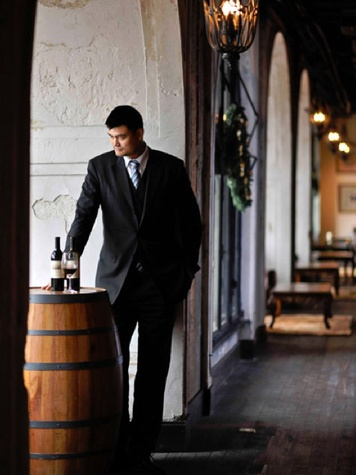 Yao Ming, wine, wine barrel
