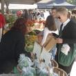 Urban Harvest Eastside Farmers' Market booths