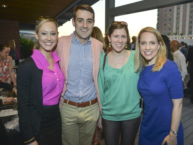 0005, Mixers on the Map, March 2013, Katie Chachere, Steven Stone, Michelle Kobelan, Kristin Kruse