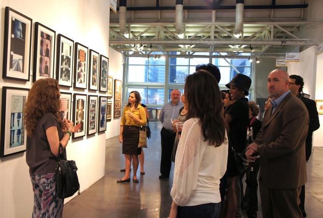 Houston Fine Art Fair 2013, Jonas Mekas