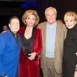 Houston, social book party, January 2018, Scott Evans, Frann Lichtenstein, Bill King, Leisa Holland-Nelson
