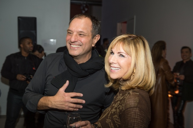 54 Jose Sanchez and Rae Fairfield at the Vault Light as Air fashion show January 2015