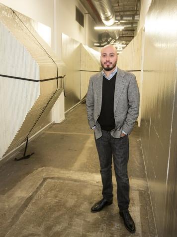 Arthur Pena, Dallas Contemporary exhibition opening