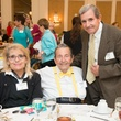 0206 Peggie Sue Saldivar, from left, Ralph Marek and Stan Marek at the Spring Chick luncheon April 2015