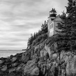 Mark Burns photo of lighthouse at Acadia National Park