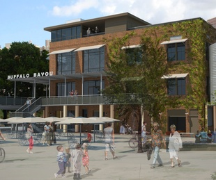 Sunset Coffee Building, renovation, rendering 2