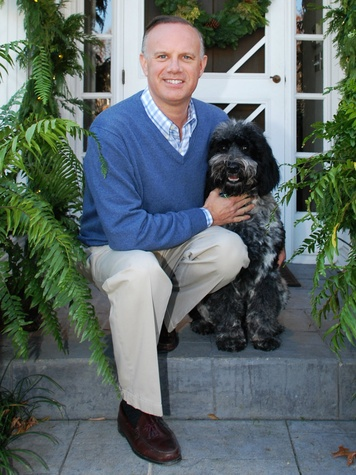 Dave Perry-Miller and his dog Tucker