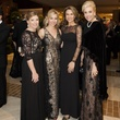 Cammie Heflin, Tavia Hunt, Kate Meyer, Heather Furniss, Crystal Charity Ball, Hilton Anatole