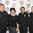 1 Kevin Northey, from left, Liz Lara Carreno, Gustavo Adame and Jon Gerald at K9s4COPS Unleased 2013