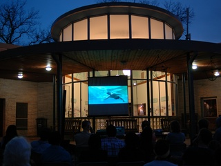 Screening at the Beverly s Sheffield Education Center at Barton Springs