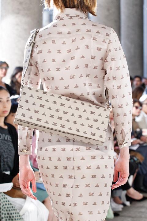 Max Mara logo dress and handbag