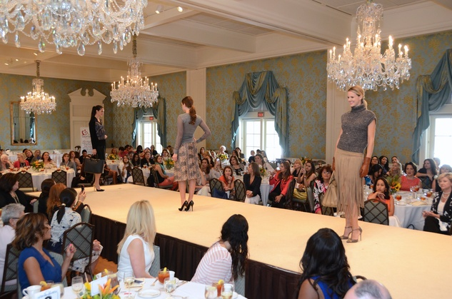 94 Models on the runway at the Latin Women's Initiative Luncheon October 2014