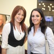 183 Deanna Hurd, left, and Amber Garcia at the Uptown Blow Dry grand opening in Vintage Park March 2015