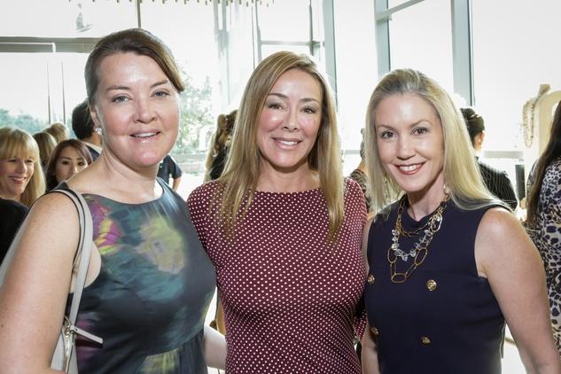 News, Shelby, Dec My Room luncheon, Oct. 2015 Colleen Dippel, Claudia Contreras, Marita Fairbanks