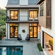 Houzz Houston house home classic contemporary Museum District