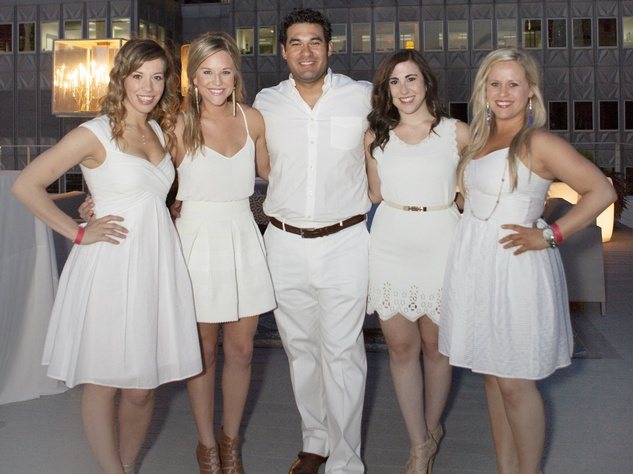 Kara Houser, Bethany Greer, Matthew S, Allie Rodenberg, Hillary Moore, the one society, night in white