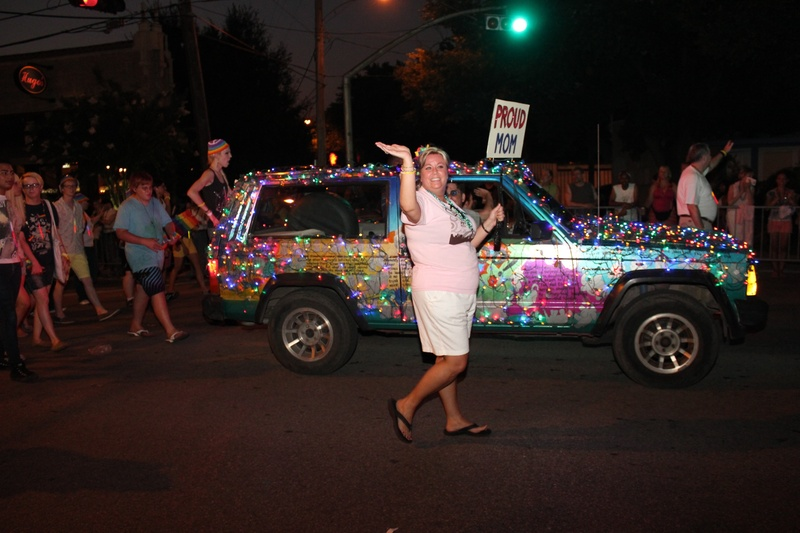 Gay Pride Parade, Proud Mom, June 2012