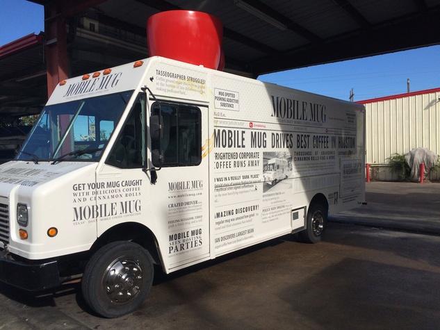 Mobile Mug coffee food truck Clark Cooper