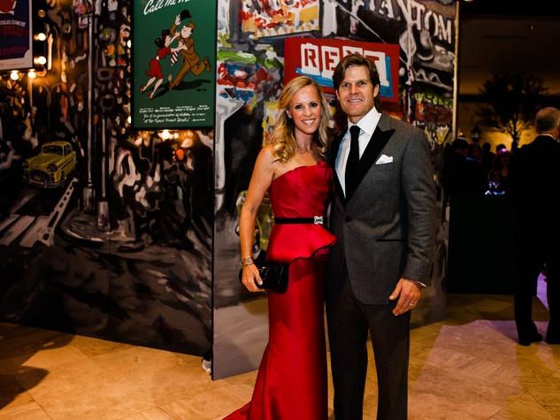 Alicia Wood, Scott Wood at Crystal Charity Ball 2013